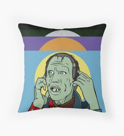 Day of the Dead - Bub Throw Pillow