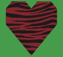 0110 Heidelberg Red or Carmine Tiger Kids Tee