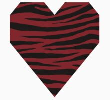 0110 Heidelberg Red or Carmine Tiger Kids Tee