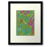 Abstract 193 Framed Print