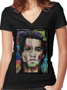 Self Portrait as Another Women's Fitted V-Neck T-Shirt