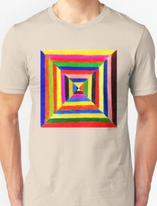 Color Squares  Unisex T-Shirt