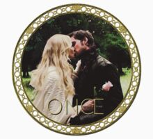 Captain Swan Camelot Garden Digital Watercolor Design 1 One Piece - Long Sleeve