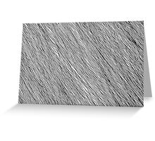 Hand Drawn Lines 1 Greeting Card