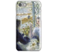 Renoir Auguste - Lunch At The Restaurant Fournaise The Rowers Lunch iPhone Case/Skin