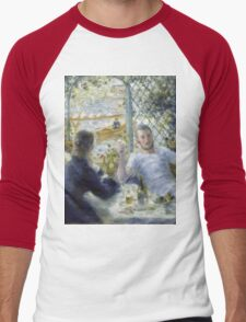 Renoir Auguste - Lunch At The Restaurant Fournaise The Rowers Lunch Men's Baseball ¾ T-Shirt