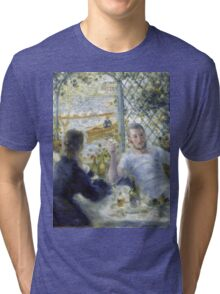 Renoir Auguste - Lunch At The Restaurant Fournaise The Rowers Lunch Tri-blend T-Shirt