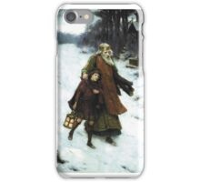 George Sheridan Knowles - Page and Monarch forth they went, Forth they went together, Through the rude wind's wild lament, and the bitter weather iPhone Case/Skin