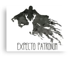 Expecto Patronum Stag Outline On Dementor Canvas Print