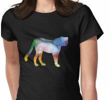 cheetah  Womens Fitted T-Shirt