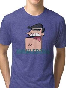 Dinkleberg! Fairly Odd Parents Tri-blend T-Shirt