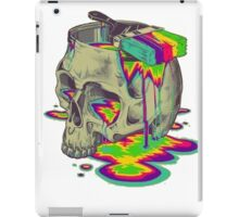 skull painted iPad Case/Skin