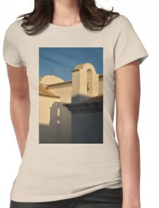 Chapel Architecture in Albufeira Womens Fitted T-Shirt