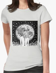 galaxy beings Womens Fitted T-Shirt