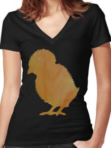 Chick  Women's Fitted V-Neck T-Shirt