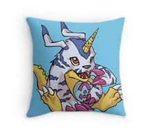 Gabumon - Digimon Throw Pillow