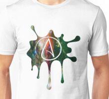 Atheist splat Unisex T-Shirt