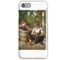 George Weatherill - View of Whitby Abbey  iPhone Case/Skin