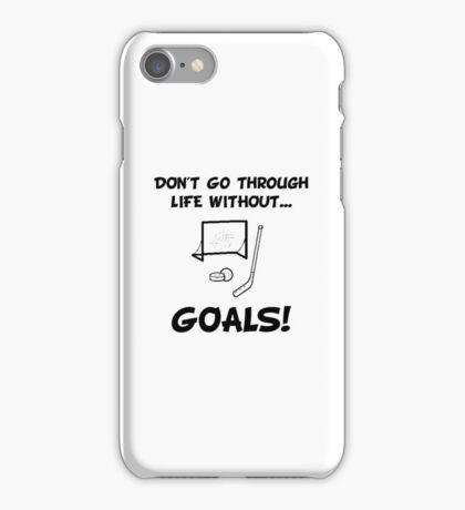 Hockey Goals iPhone Case/Skin