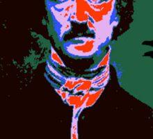 Edgar Allan Poe Pop Art 1 Sticker