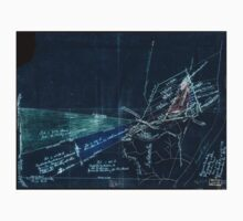 094  Sketch of the Riverside Iron Works and other properties in Kanawha County West Virginia Inverted One Piece - Long Sleeve