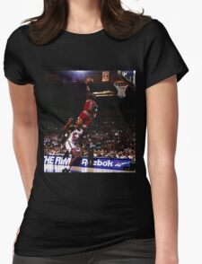 michael jordan chicago bulls Womens Fitted T-Shirt