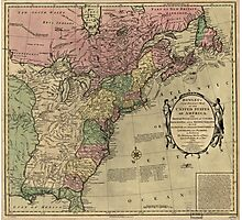 American Revolutionary War Era Maps 1750-1786 348 Bowles's new pocket map of the United States of America the British possessions of Canada Nova Scotia and Photographic Print