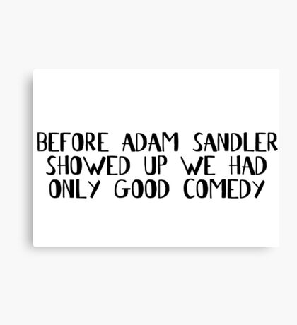 Comedian Funny Stand Up Comedy Movies Canvas Print