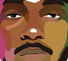 Kendrick Lamar Colourful Illustration Sticker