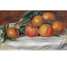 Renoir Auguste - Still Life With Apples And Oranges Photographic Print