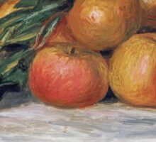 Renoir Auguste - Still Life With Apples And Oranges Sticker