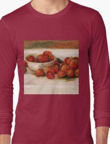 Renoir Auguste - Strawberries Long Sleeve T-Shirt