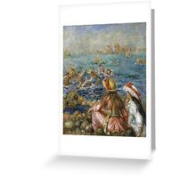 Renoir Auguste - The Bathers Greeting Card