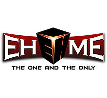 Team Ehome logo Photographic Print