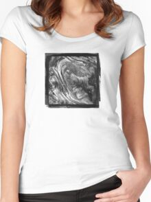 Woodgrain Women's Fitted Scoop T-Shirt