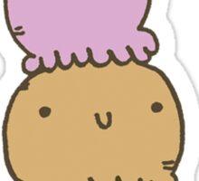 Happy Ice Cream Party Pals Sticker