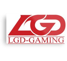 Team LGD Gaming logo Metal Print
