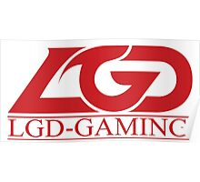 Team LGD Gaming logo Poster