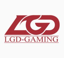 Team LGD Gaming logo One Piece - Short Sleeve