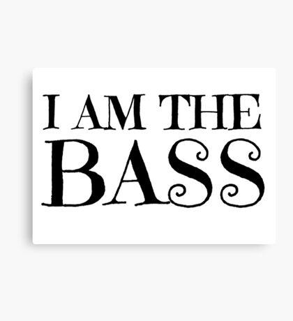 Rock Bass Guitar Music Musician Canvas Print