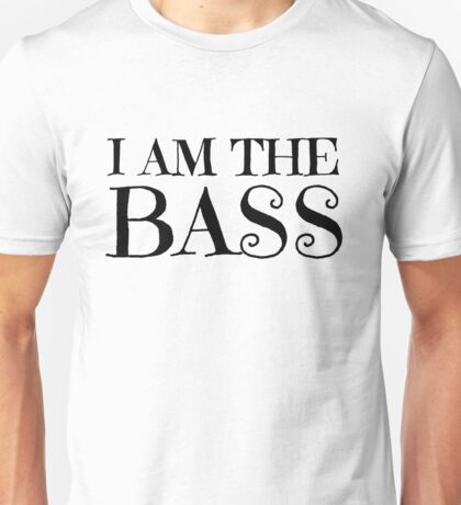 Rock Bass Guitar Music Musician Unisex T-Shirt
