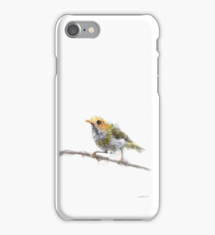 Bird tweets for you iPhone Case/Skin