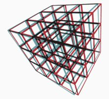 3D Puzzle Cube Baby Tee