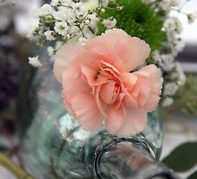 Center Piece of Carnation and Love by Katagram