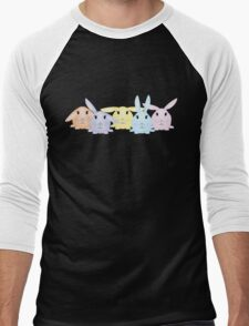 Bunny Blast Men's Baseball ¾ T-Shirt