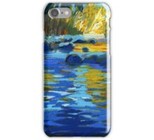 Lynn Creek. Golden Water. North Vancouver iPhone Case/Skin
