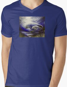 Mother and Son Manatees  Mens V-Neck T-Shirt