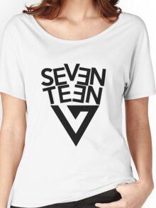 Seventeen text + logo Women's Relaxed Fit T-Shirt