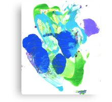 Smoosh #10 Canvas Print