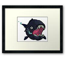 Dunkleosteus! Framed Print